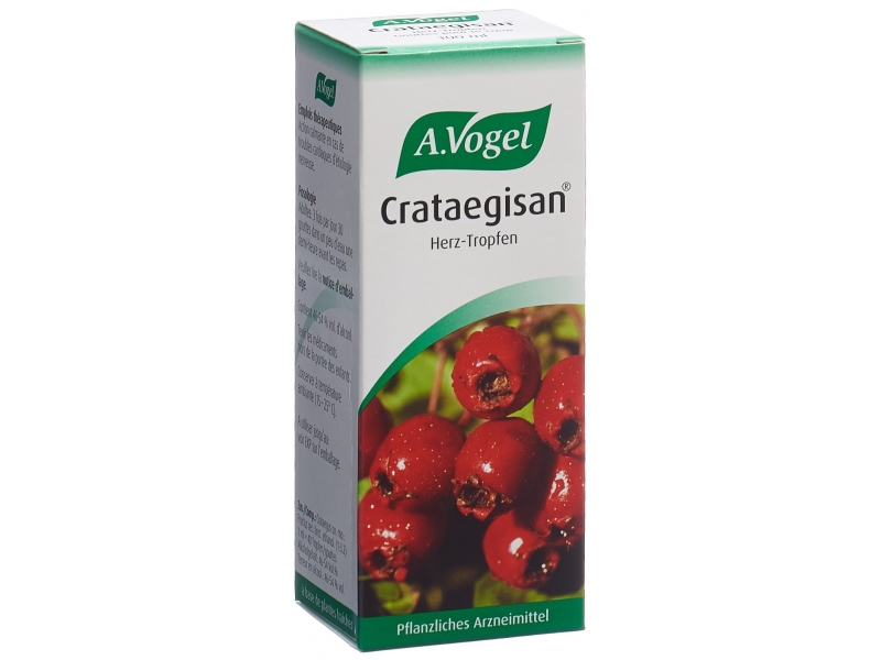 VOGEL Crataegisan, gocce 100 ml