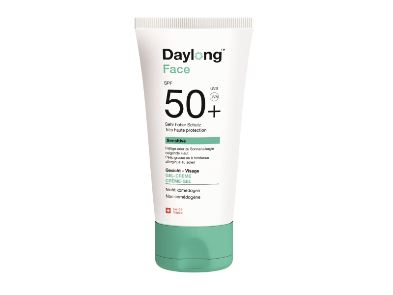 DAYLONG Sensitive Face Crème-Gel SPF 50+ tube 50 ml